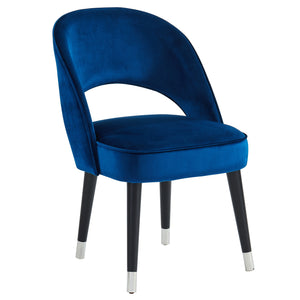 Vogue Side Chair, set of 2, in Blue