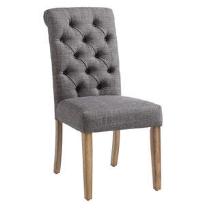 Melia Side Chair, set of 2, in Grey