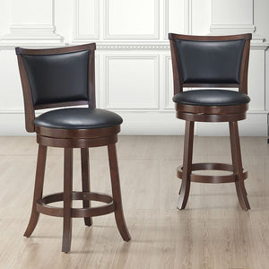 Rowan 26'' Counter Stool, set of 2, in Coffee