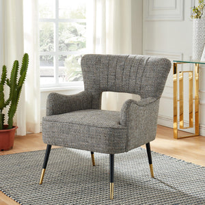 Vince Accent Chair in Camel Blend