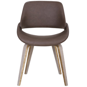 Serano Accent & Dining Chair in Brown