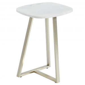 Ellis Accent Table in White