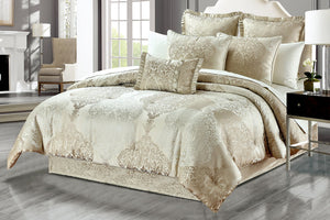 Alexandra 6-Piece Luxury Oversize Comforter Set