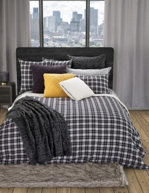 Black Plaid Blanket, Billy Collection