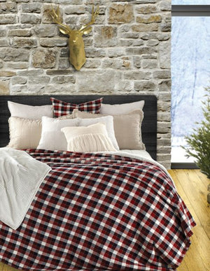Red Plaid Blanket, Billy Collection