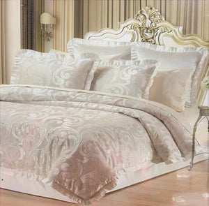 Concord Chenille Luxury 6-Piece Comforter Set