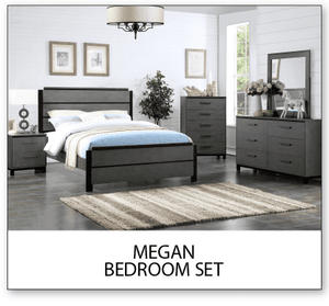 Megan Bed  (new)