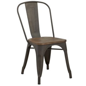 Modus Side Chair in Gunmetal (4 Pk)