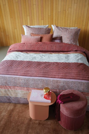 Pink Patterned Duvet Cover, Scarlett Collection