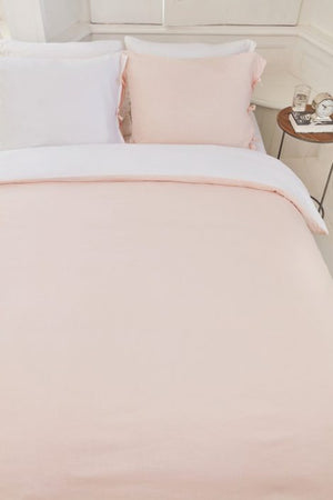 Pink Duvet Cover, Tranquility Collection
