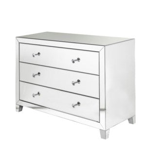 GY-15060 3 drawer Clear mirror sideboard