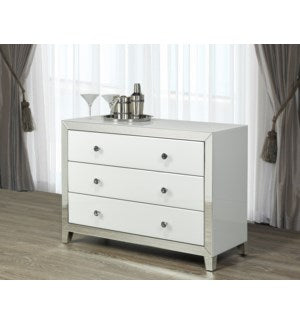 White Mirror Glass Sideboard/ GY-WHT004