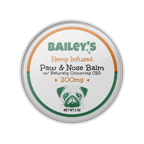 Image of Hemp Infused Paw & Nose Balm