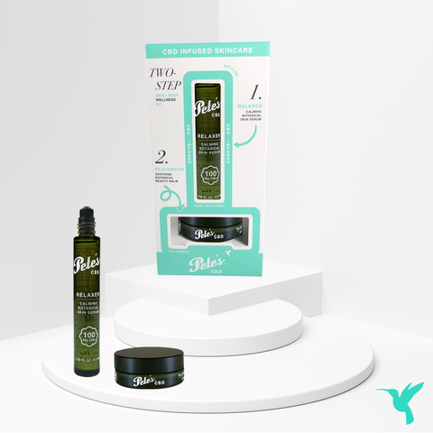 Image of Pete's 300mg CBD Infused Two-Step CBD Skin + Body Wellness Kit
