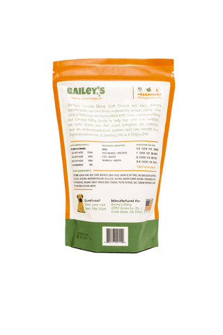 Image of Bailey's Omega Hemp Soft Chews - Bacon Flavored- 60 Count (NEW!)