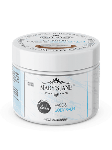 Mary's Jane Beauty All Natural CBD Face & Body Balm