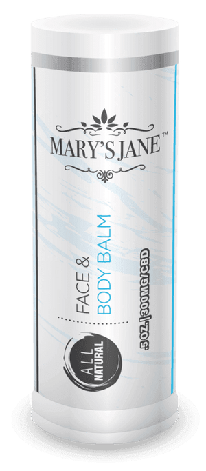Mary's Jane Beauty All Natural Face & Body Balm Stick With 300MG CBD
