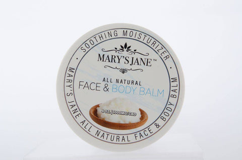 Image of Mary's Jane Beauty All Natural CBD Face & Body Balm