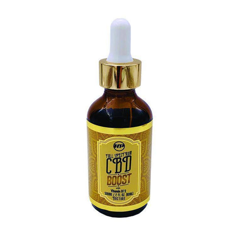 HeyerPower Wellness CBD Oil – Boost – with Vitamin B12 – 500 mg – 2 fl oz Tincture