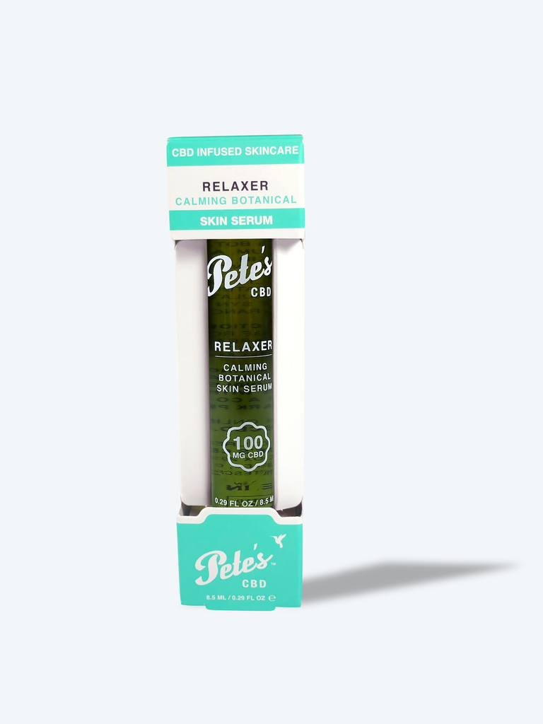 Pete's 100mg CBD Infused Relaxer- CBD Calming Botanical Skin Serum (Roll-On)