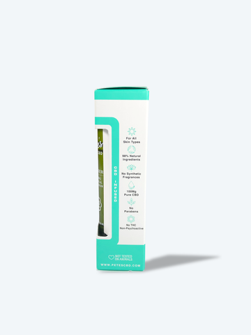 Image of Pete's 100mg CBD Infused Relaxer- CBD Calming Botanical Skin Serum (Roll-On)