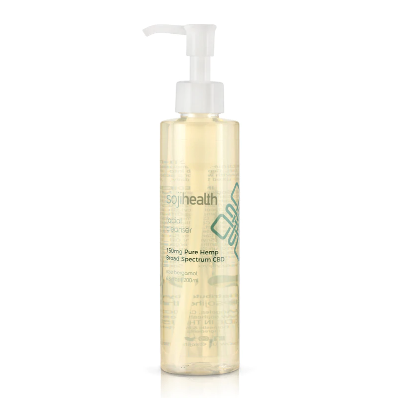 Soji Health CBD Facial Cleanser