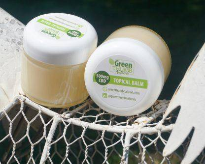 Image of Green Thumb Naturals 2oz Topical Balm w/ 500mg CBD Isolate