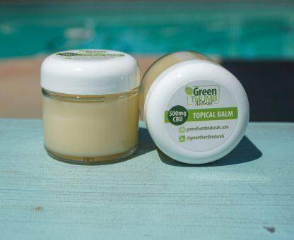 Green Thumb Naturals 2oz Topical Balm w/ 500mg CBD Isolate