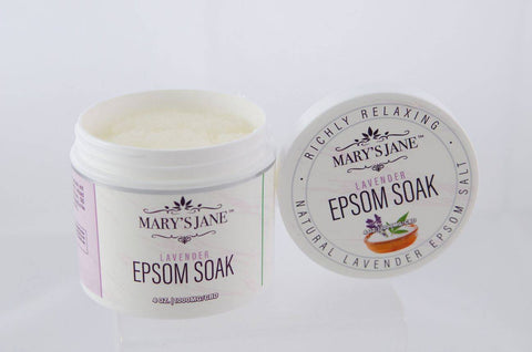 Image of Mary's Jane Beauty CBD Lavender Epsom Soak