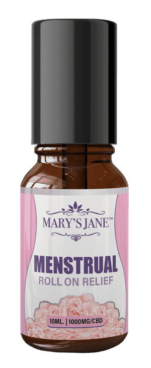 Mary's Jane Beauty Menstrual Roll-On Relief w/ 1000mg CBD