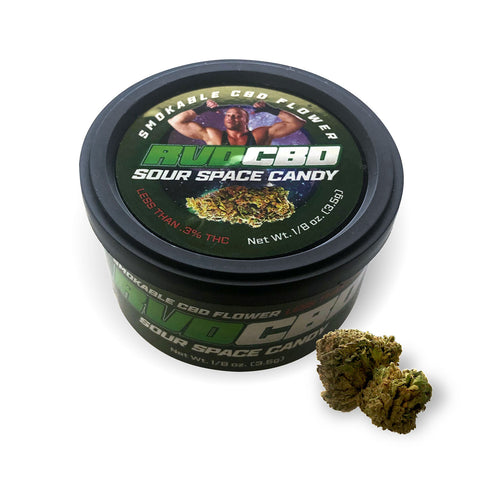 "Image of RVD CBD-Rich Hemp Flower with ""Out of this World"" Flavor"