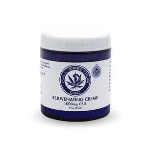 Scorpion Full Spectrum Hemp Oil Infused Rejuvenating Creme w/ 1000mg Naturally Occurring CBD