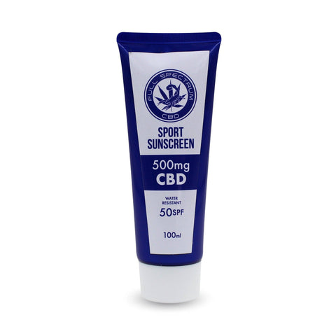 Scorpion Full Spectrum Hemp Oil Infused SPF 50 Sunscreen w/ 500mg Naturally Occurring CBD