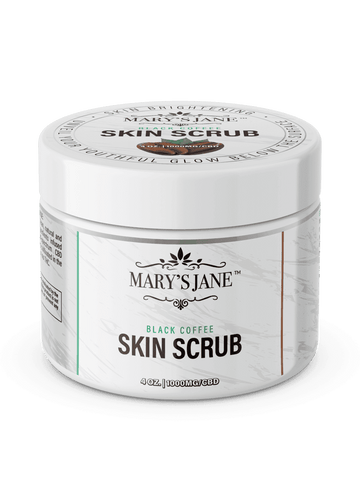 Image of Mary's Jane Beauty Black Coffee CBD Skin Scrub