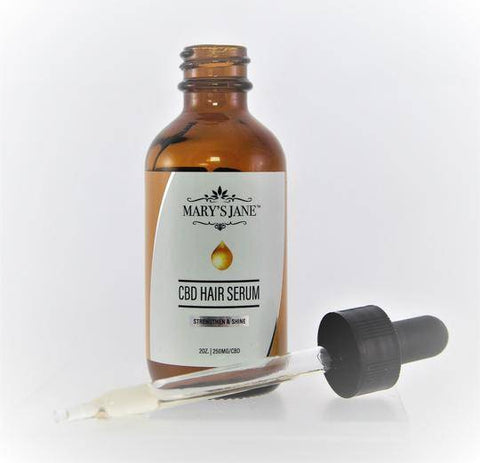 Image of Mary's Jane Beauty CBD Hair Serum