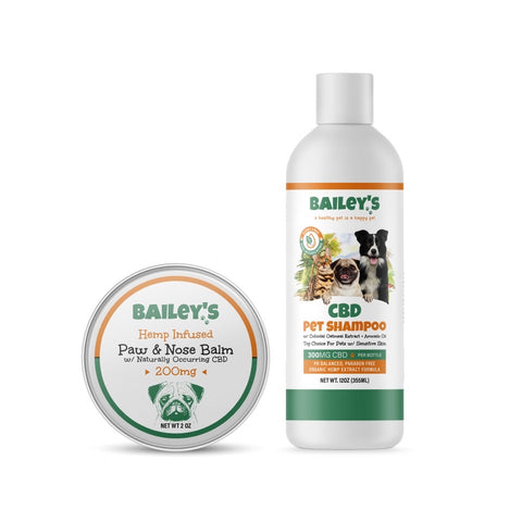 Image of Bailey's Hemp Infused Paw & Nose Balm w/ Naturally Occurring CBD
