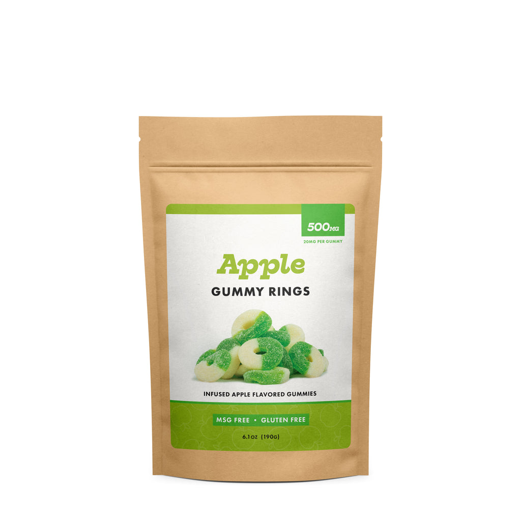 (CBD Works) Apple Gummy Rings