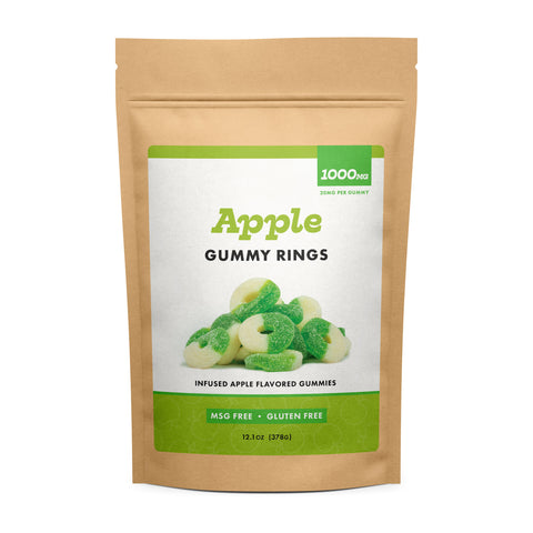 Image of (CBD Works) Apple Gummy Rings