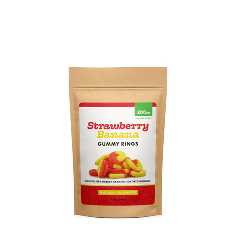 Image of (CBD Works) Strawberry Banana Rings