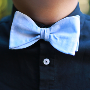Light Blue Chambray Tie