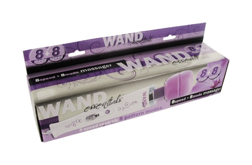 8 Speed 8 Function Wand - Purple - 110v WE-TV300-US