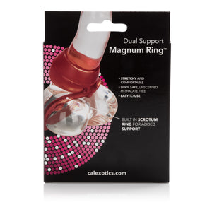 Dual Support Magnum Ring - Red SE1460113