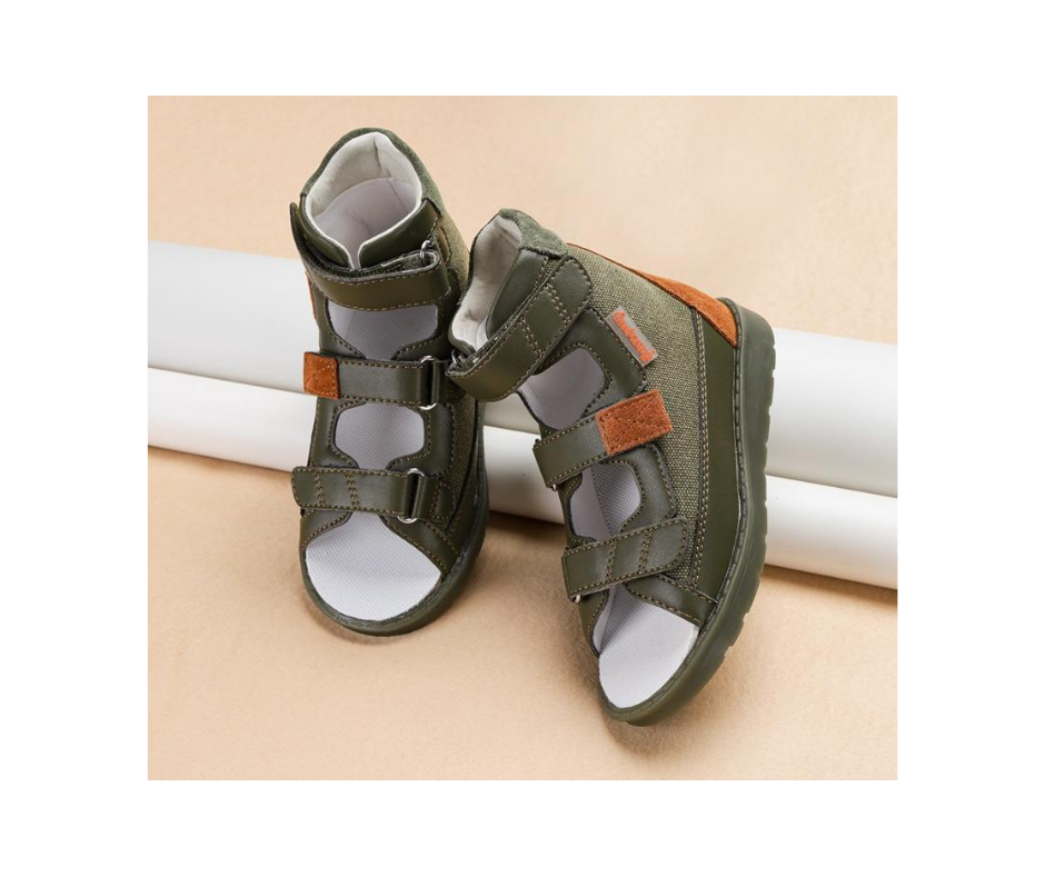 Army High Cut Sandals