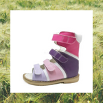 Rainbow High Cut Sandals