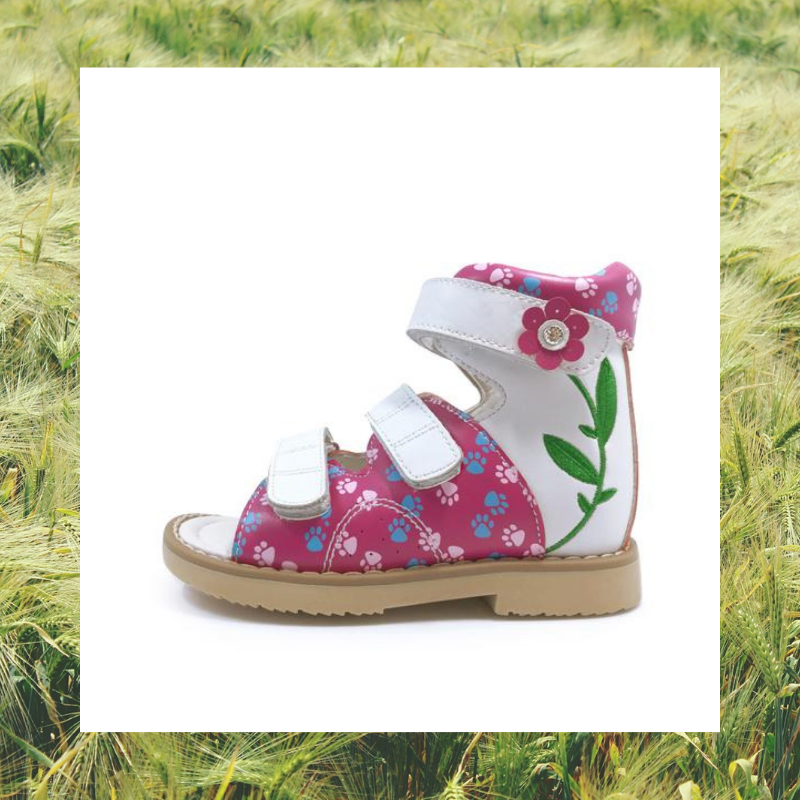 Flower and Paw High Cut Sandals