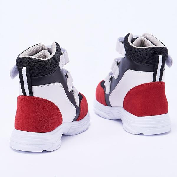 Three Colour High Cut Sneakers