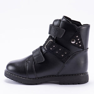 Black Classic Winter Boots