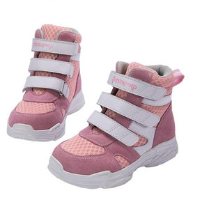 Pink Princess High Cut Sneakers