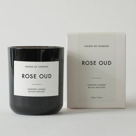 UNION OF LONDON Large Candle - Rose Oud