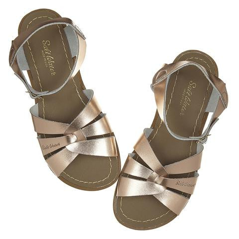 Sun-San Salt-Water sandals - Originals style in NEW Rose Gold